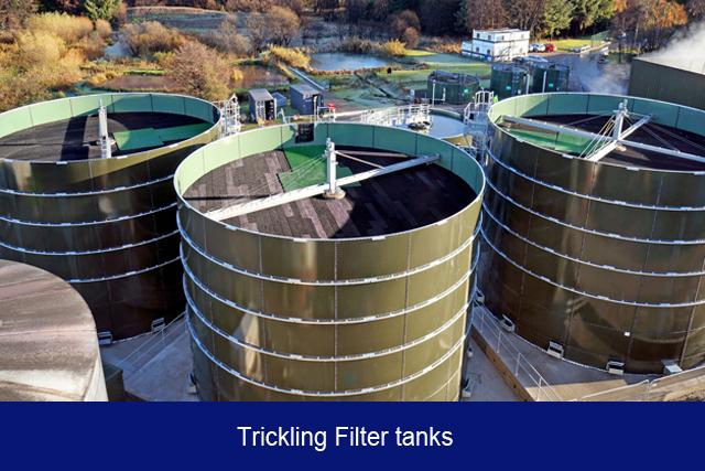 NEW1. Trickling filter tanks