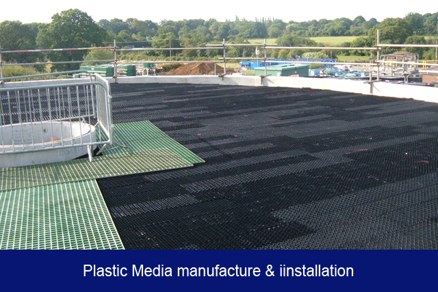 NEW4. Plastic Media manufacture & iinstallation