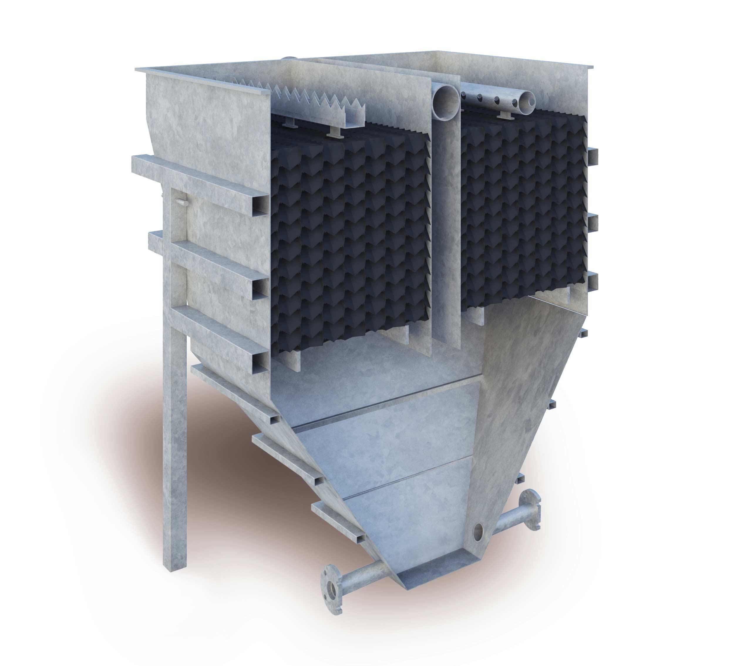 Free-Standing-Sedimentation-Tank